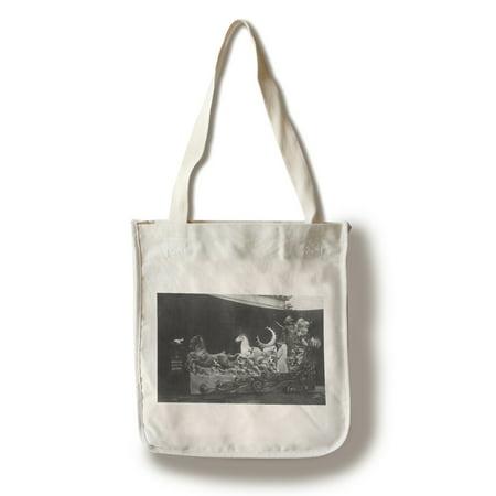 Portland, Oregon - A Rose Show Float, Beacon before Dawn (100% Cotton Tote Bag -