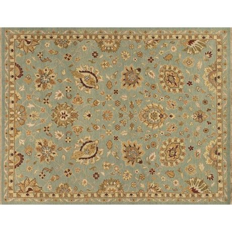 loloi laurent 4 39 x 6 39 hand knotted wool rug in sterling blue. Black Bedroom Furniture Sets. Home Design Ideas