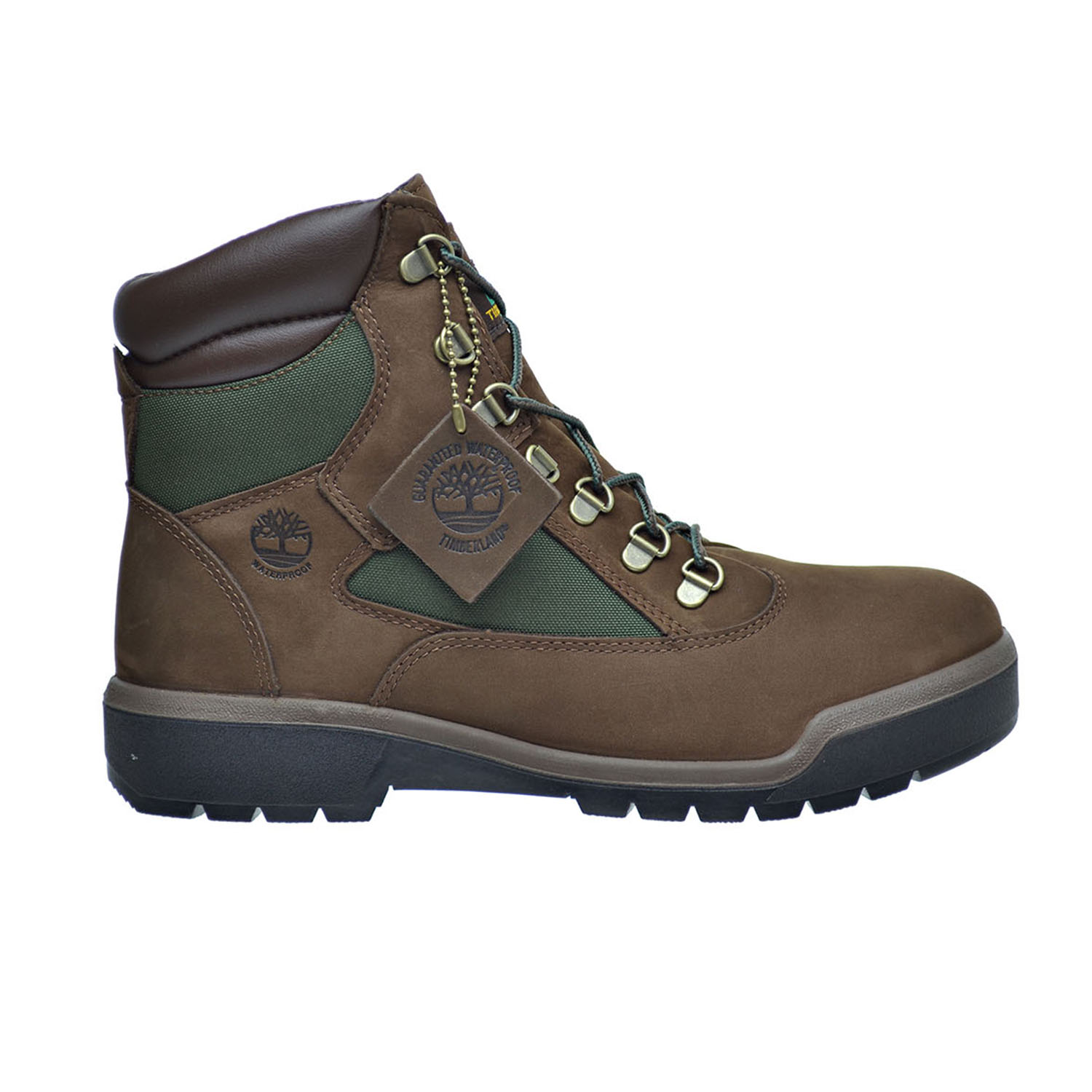 Timberland 6-Inch WP Men's Field Boots Dark Brown tb0a18ah by Timberland