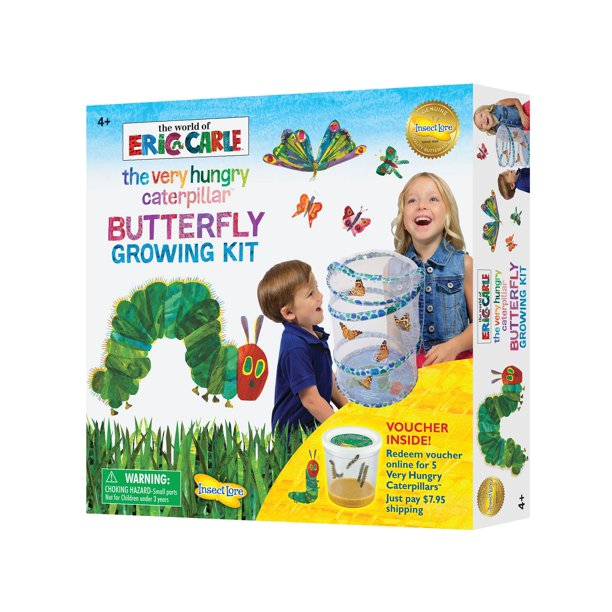 The Very Hungry Caterpillar Butterfly Growing Kit With Voucher