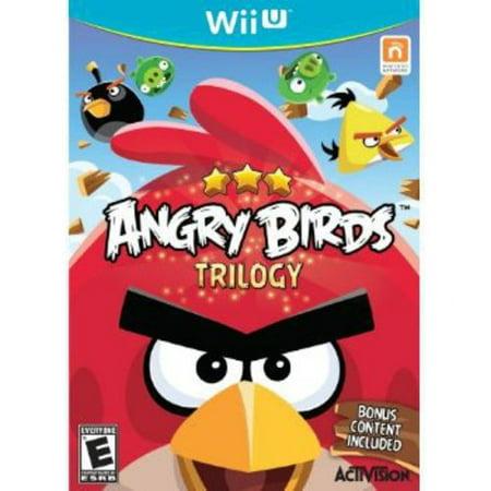 Angry Birds Trilogy - Nintendo Wii U (Angry Birds Halloween Hd Happy Games)