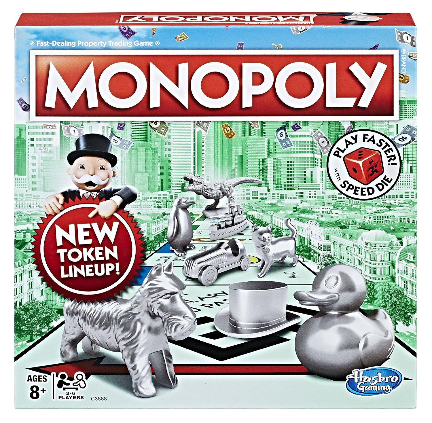 Hasbro Gaming Monopoly Speed Die Edition Amazon Exclusive by