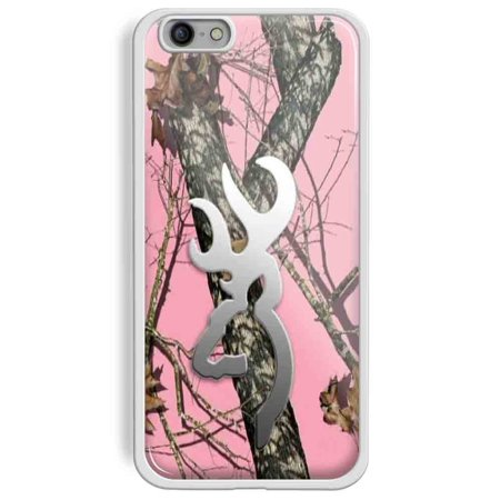 Ganma Hoomin Pink Realtree Camo Browning Oak Pink Case For iPhone and Case For Samsung Galaxy Case (Case For Samsung galaxy s6 white)