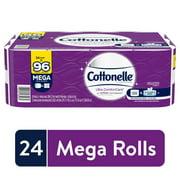Cottonelle Ultra ComfortCare Soft, 24 Mega Rolls, Bath Tissue
