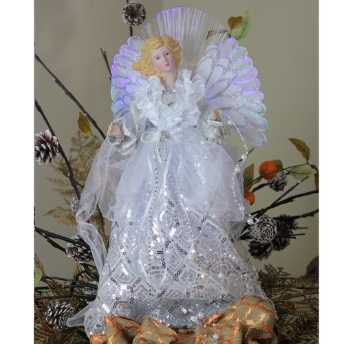 The Holiday Aisle Angel Gown Christmas Tree Topper