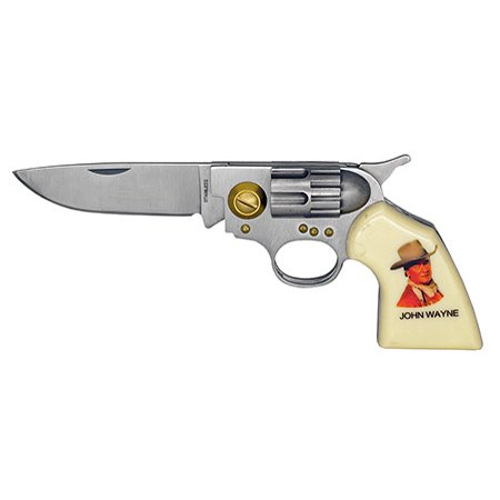 "4.5"" Revolver Folding Knife - John Wayne thumbnail"