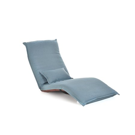Relaxing Folding Sofa Chaise Lounge, Futon Chair and Lounge by Toysland - Blue