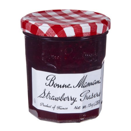 (2 Pack) Bonne Maman Strawberry Preserves, 13 oz
