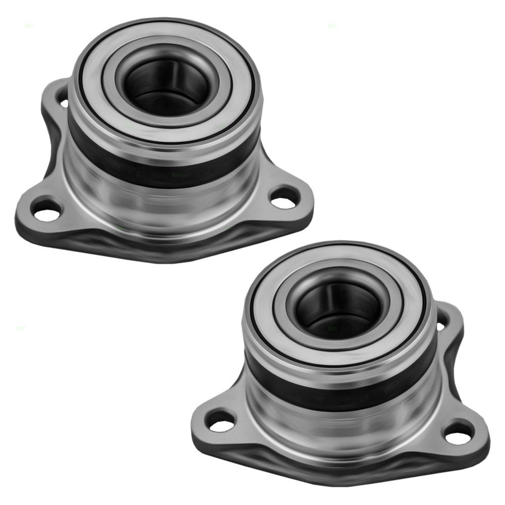Pair of Rear Wheel Hub Bearings Replacement for Toyota Lexus SUV 4240933020