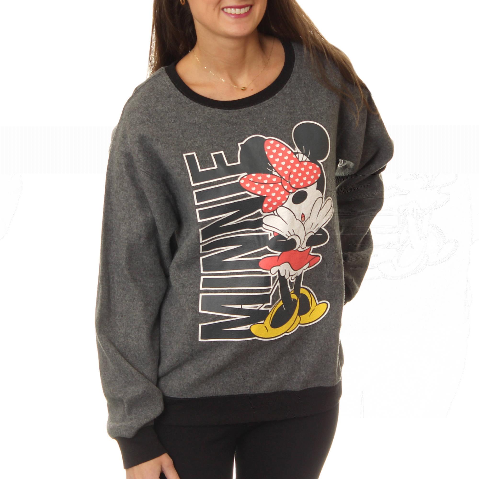 "Disney Juniors' ""Minnie Mouse"" Cozy Fleece Pullover"