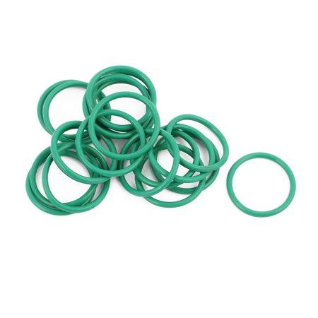 20Pcs 22mm x 1.9mm Heat Resistance NBR Rubber O Ring Sealing Ring - image 1 of 2