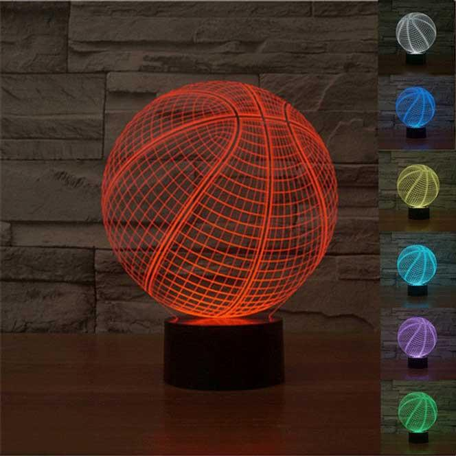 Basketball Illusion Lamp