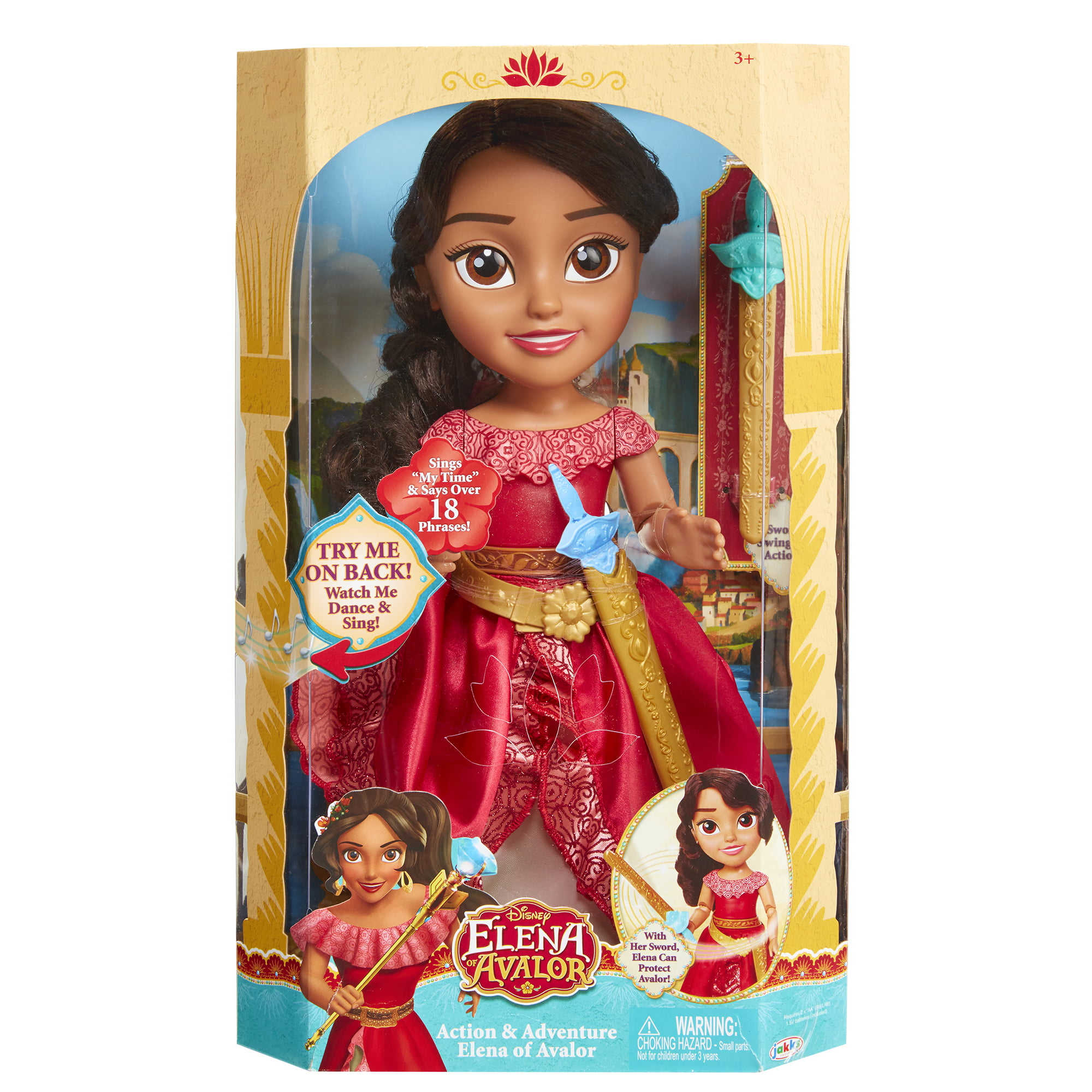 Action & Adventure Disney Princess Elena of Avalor Doll by Jakks Pacific