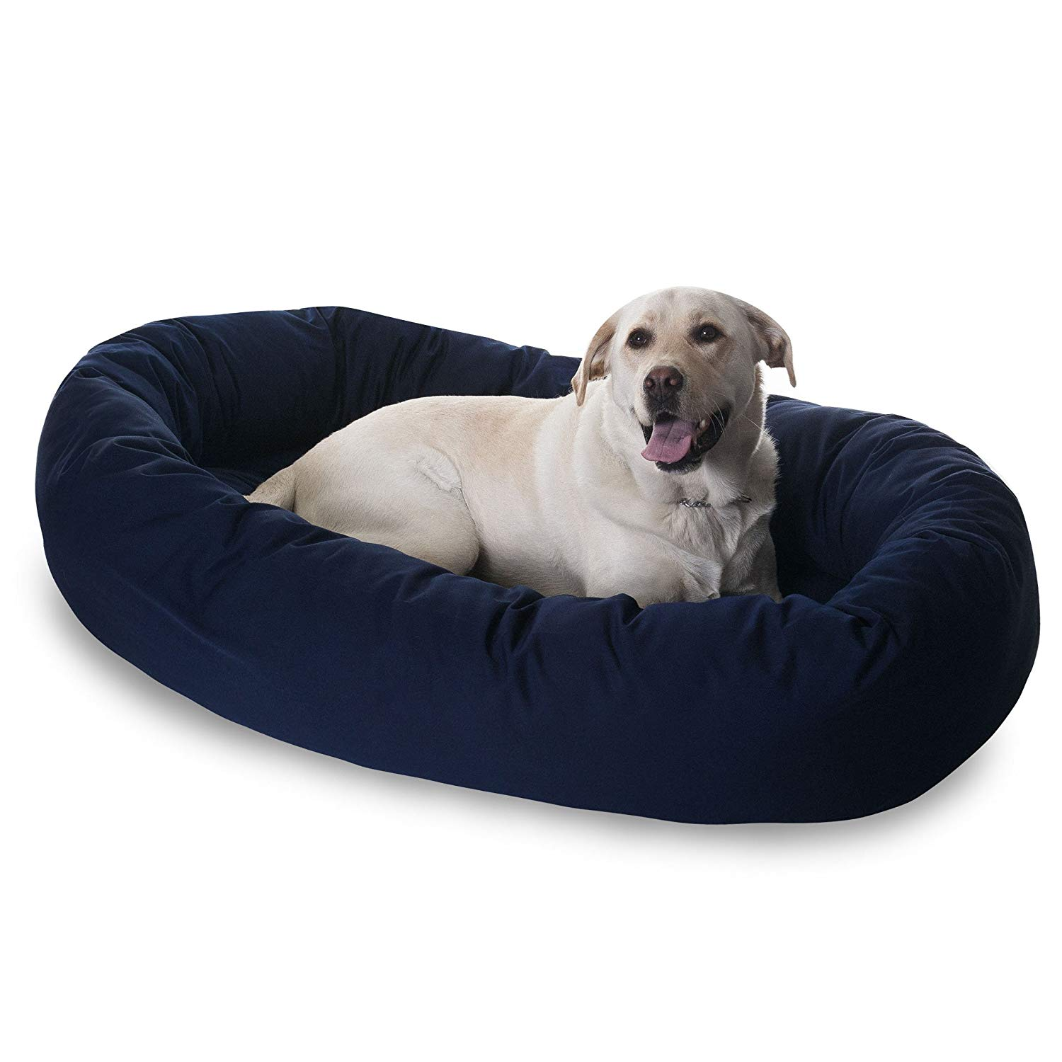 Extra Large 52'' Majestic Pet Bagel Bed Multiple Colors