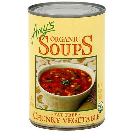 Organic Soup Kitchen Amys kitchen organic chunky vegetable soup 143 oz pack of 12 amys kitchen organic chunky vegetable soup 143 oz pack of workwithnaturefo