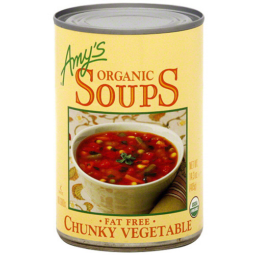 Amy's Kitchen Organic Chunky Vegetable Soup, 14.3 oz (Pack of 12)
