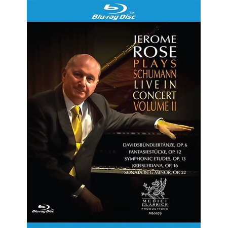 Plays Schumann Live in Concert II (Blu-ray)
