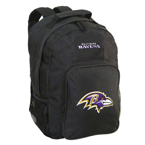 NFL - Baltimore Ravens Black Youth Southpaw Backpack
