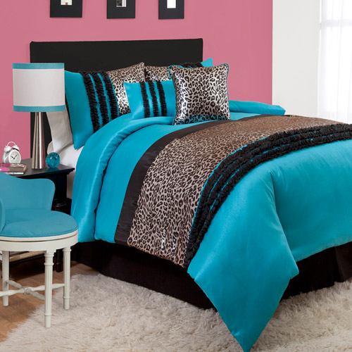 Kenya 5-Piece Blue Comforter Set