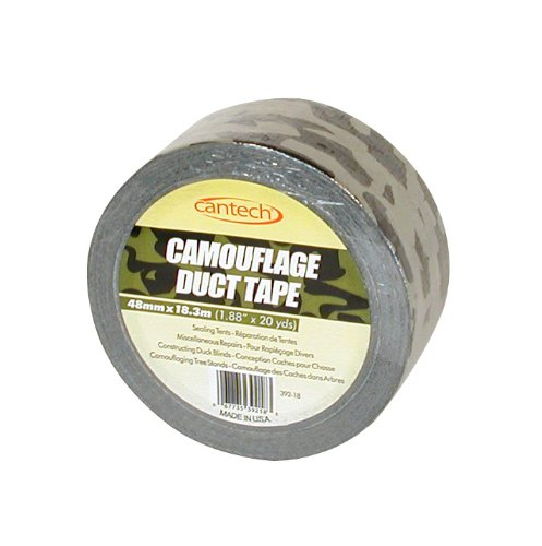 Cantech 39218 Camouflage MultiPurpose Duct Tape, 48mm