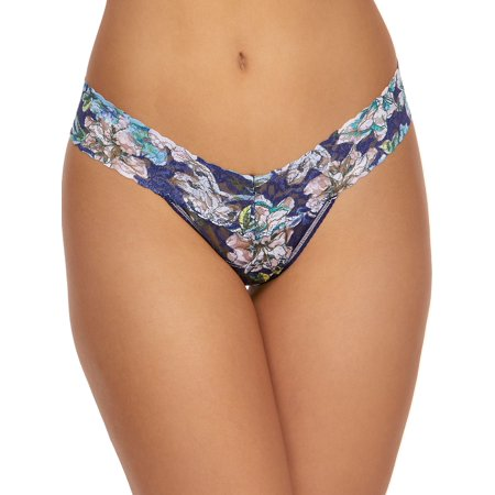 Felice Floral Low-Rise Thong ()