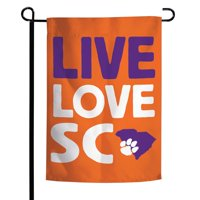 Clemson Tigers WinCraft 12'' x 18'' Local Design Double-Sided Garden Flag