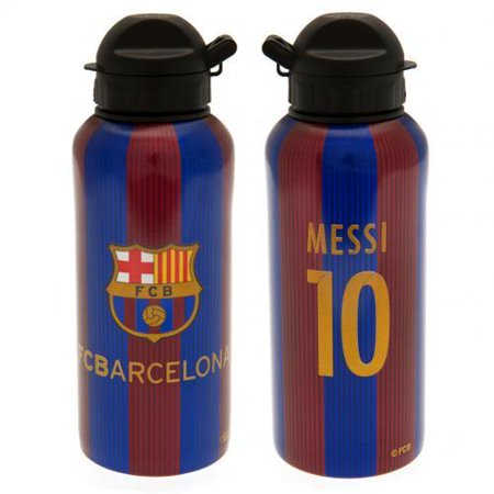 Special Order Bottles - FC Barcelona  - Messi Aluminium Drinks Bottle - 400ml - WEB SPECIAL