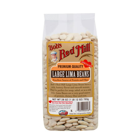 Bobs Red Mill Large Lima Beans, 28 Oz