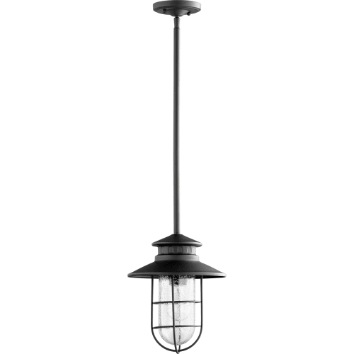 "Quorum International 7699 Moriarty Single Light 9-1/2"" Wide Outdoor Mini Pendant"