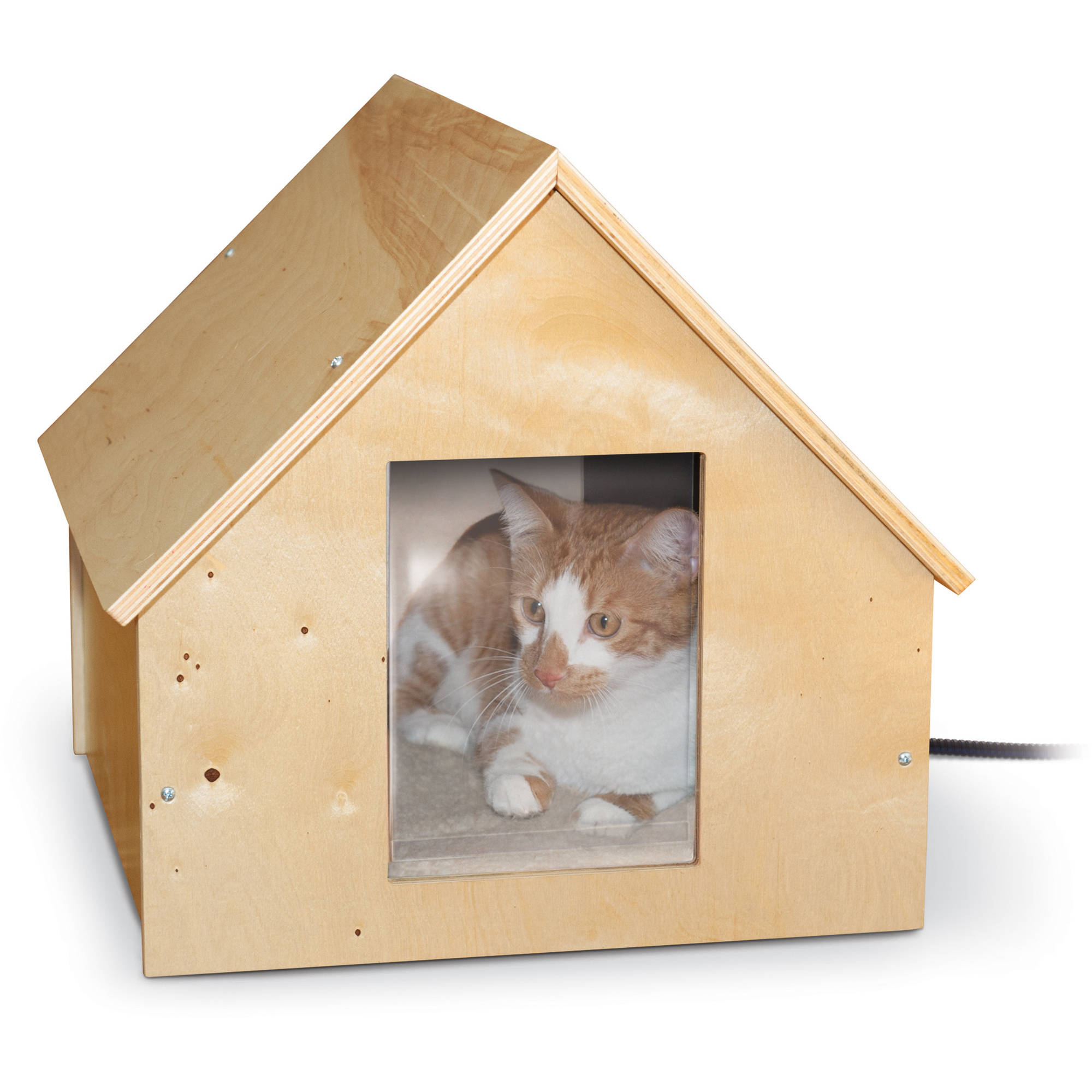 K&H Birchwood Manor Kitty Home (Heated or Unheated)