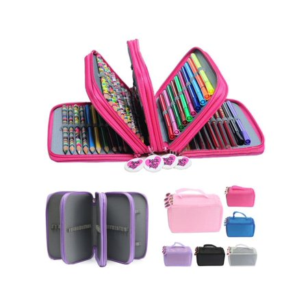 Hot Pen Pencil Case Cosmetic Travel Cosmetic Brush Makeup Storage Bags Pouch Box