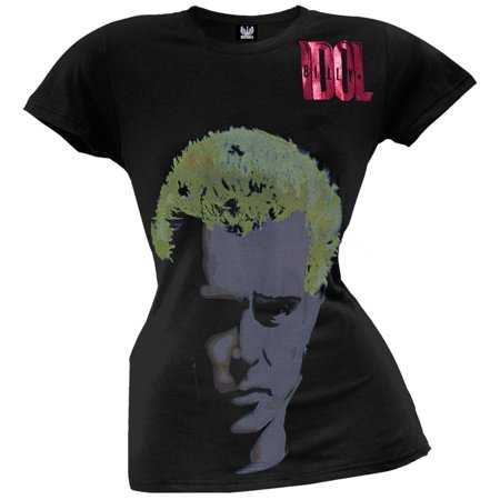 Billy Idol - Rebel Yell Juniors T-Shirt (Idol Ladies T-shirt)