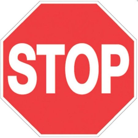 Voss 421 ST RR 12x12in. Reflective Trail Sign - Stop - Doug Stop Sign