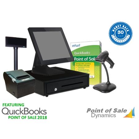 All in One Retail Point of Sale System Featuring QuickBooks