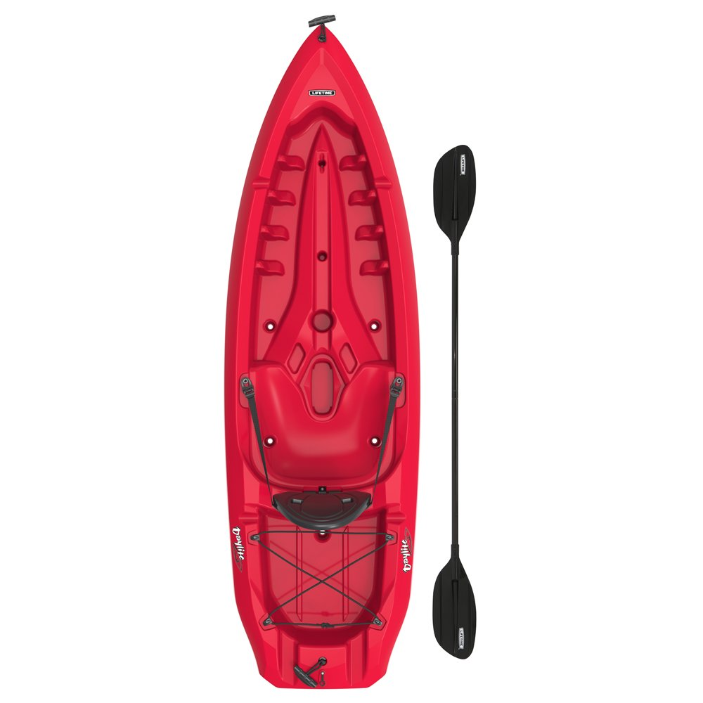 Lifetime Daylite 8 ft Sit-on-top Kayak (Paddle Included), 90775