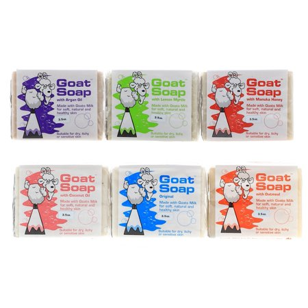 Goat Milk Soap 6 Pack Gift Set, 21 oz Gift Set Soap