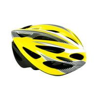 Blue Bike Skate Roller Helmet With Safety Rear Led Light Lightweight Protection Helmet For Kids And Teens