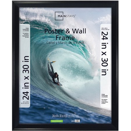 Upc 044021492833 Mainstays 24x30 Casual Black Poster