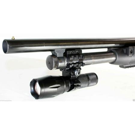 Hunting 1000 Lumen Strobe Flashlight With Single Rail Mount For Maverick 88 Pump