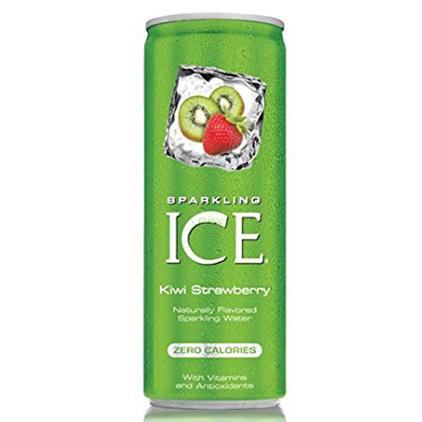 Sparkling Ice Kiwi Strawberry 8 oz Cans - Pack of 24
