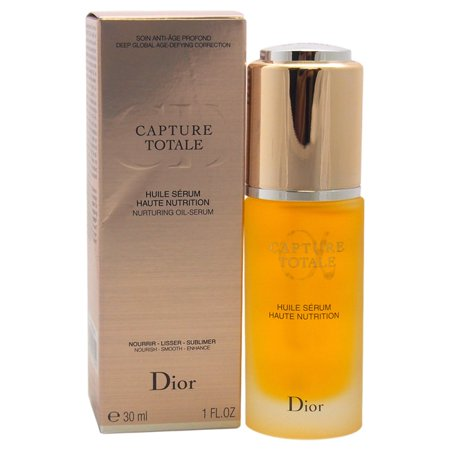 christian dior dior capture totale anti age 1 ounce nurturing oil serum. Black Bedroom Furniture Sets. Home Design Ideas