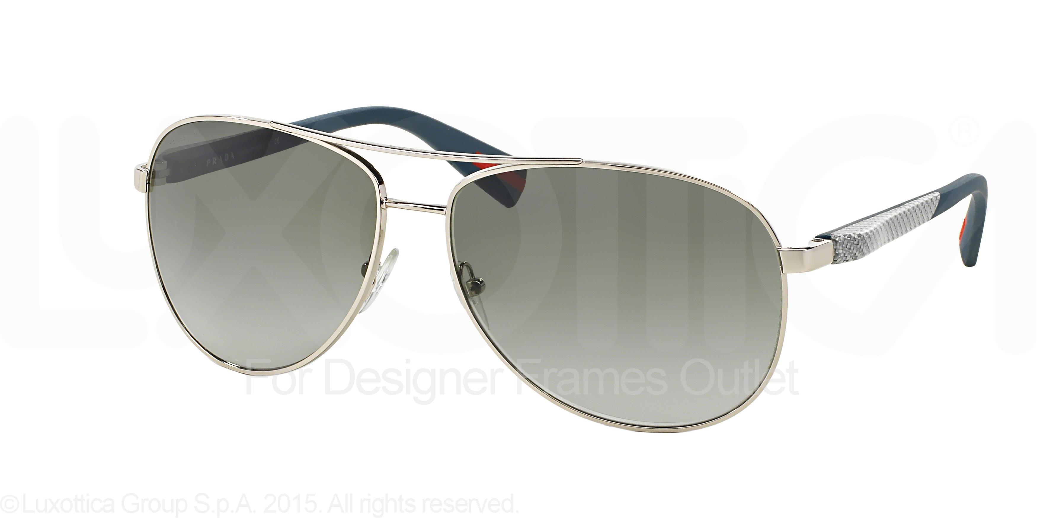 36d29f02ff ... new arrivals prada sport sunglasses ps 51os 1bc3m1 silver 62mm df0af  64e2c