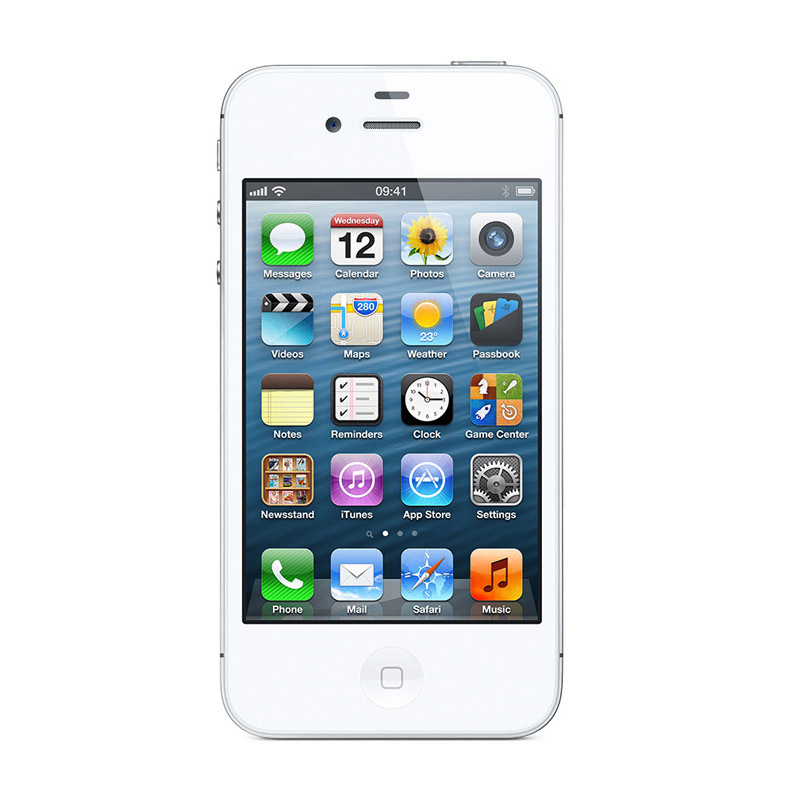 Refurbished Apple iPhone 4S 8GB White 3G Cellular AT&T MF258LL/A
