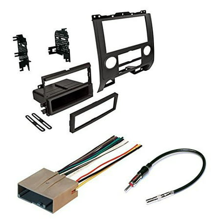 ford 2008 - 2012 escape car radio stereo radio kit dash installation mounting w/ wiring harness and radio antenna