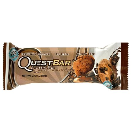 Quest Nutrition Double Chocolate Chunk Protein Bars 2 12 Oz   Pack Of 12