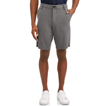 - Men's Washed Flat Front Short