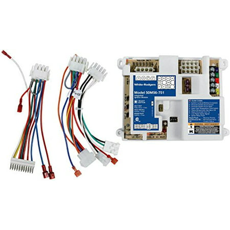 White-Rodgers 50M56U-751 Replacement Kit for Carrier Single Stage Integrated Furnace Control