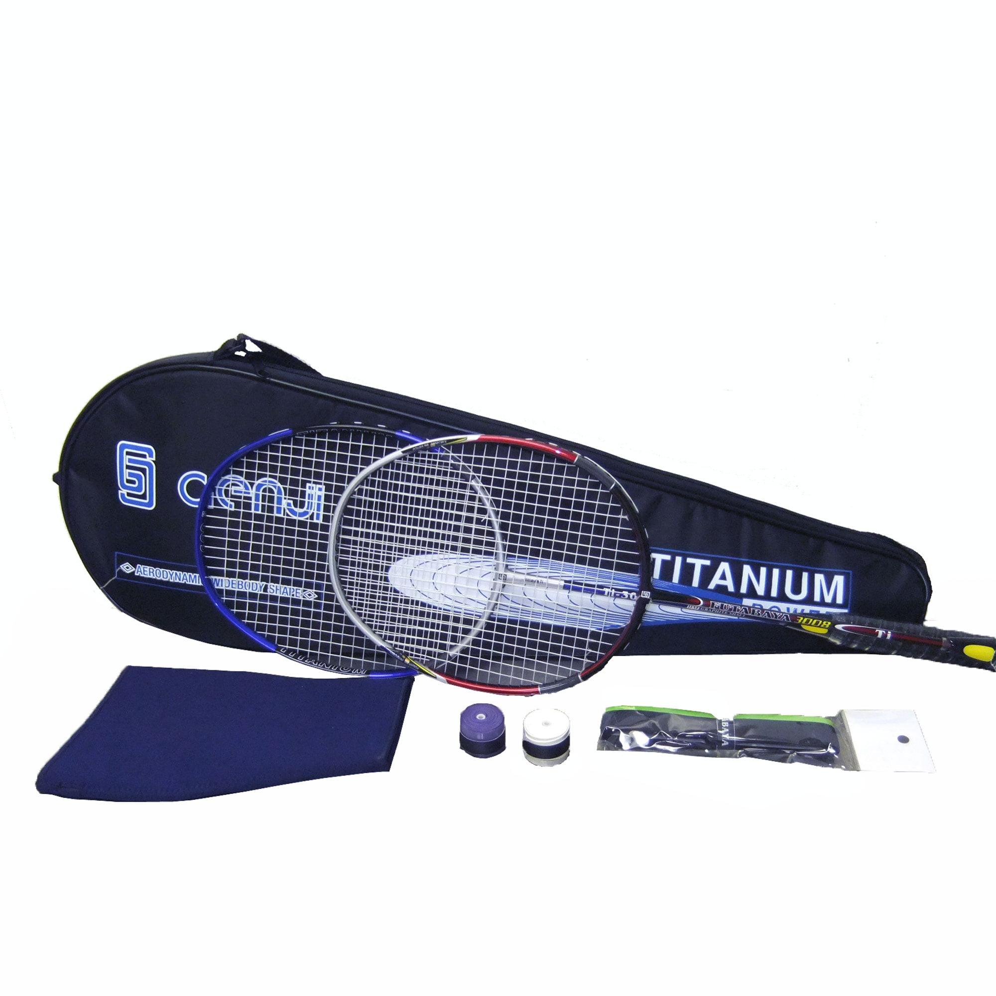 Genji Sports Titanium Badminton Rackets Set