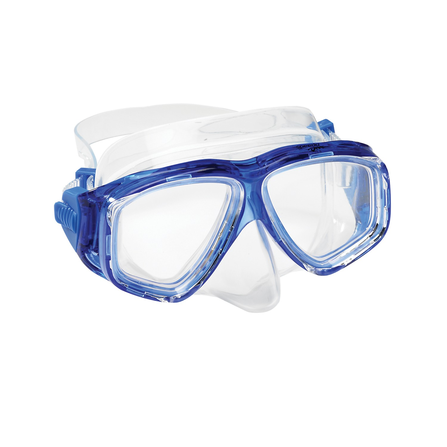 Speedo Dive Junior Recreation Adventure Swim Swimming Mask Goggles Durable Blue by Speedo