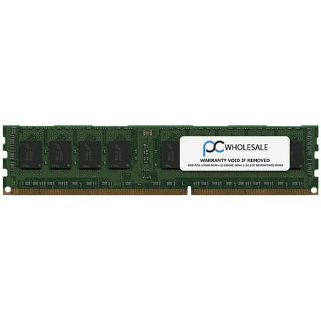 HP 752368-581 - 8GB PC4-17000 DDR4-2133Mhz 1Rx4 1.2v ECC Registered RDIMM (Third -